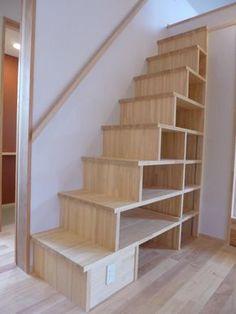 専門家:K+Yアトリエ一級建築士事務所が手掛けた、箱階段(市川市Kさんの家新築工事)の詳細ページ。新築戸建、リフォーム、リノベーションの事例多数、SUVACO(スバコ)