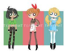 teen powerpuff girls xxx doujin