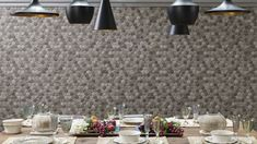 Geometric wall tiles the Forest Collection by @porcelanosa