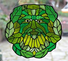 green-man-stained-glass