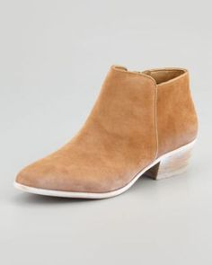 Women's Sam Edelman Petty Suede Ankle Boot, Cashew | http://www.beso.com/users/iaintclever/favorites