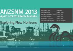 Australian And New Zealand Society Of Nuclear Medicine 43rd Annual Scientific Meeting 2013 (ANZSNM 2013) | MediSitu.Com