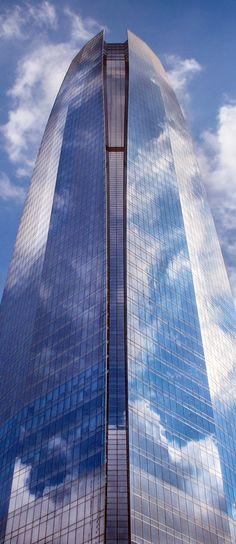 Torre Costanera - Santiago de Chile Skyscraper, Multi Story Building, Urban, World, Photography, Santiago, Towers, Street, Buildings