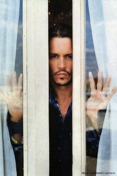 who knew i'd find johnny through the window!