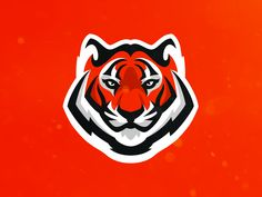 Tiger (For Sale) designed by Matthew Doyle. Connect with them on Dribbble; the global community for designers and creative professionals. Vector Logos, Tiger Logo, Bold Logo, Logo Inspiration, Animal Logo, Animal Crafts, Animal Drawings, Logo Design, Graphic Design