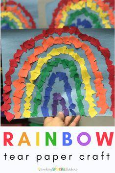 Rainbow Tear Paper C