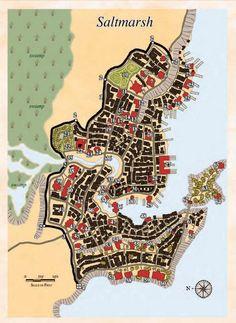 The town of Saltmarsh