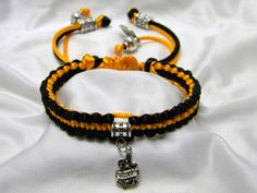 Born To Ride Braided Bracelet with Harley by CreationsbyDreamLady, $20.00