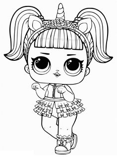 Printable LOL Doll Coloring Pages - Free Coloring Sheets Printable LOL Doll Coloring Pages. Find out our collection of LOL Doll coloring pages below. Your children surely will love these images. Tattoo Coloring Book, Baby Coloring Pages, Valentine Coloring Pages, Mermaid Coloring Pages, Free Coloring Sheets, Cartoon Coloring Pages, Disney Coloring Pages, Coloring Pages To Print, Coloring Rocks