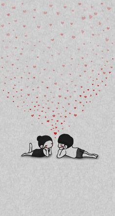 Eye contact couple drawing new Ideas Cute Couple Drawings, Cute Couple Art, Love Drawings, Love Doodles, Love Cartoon Couple, Anime Love Couple, Love Wallpapers Romantic, Cute Wallpapers, Phone Wallpapers