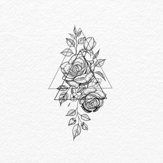 Drawing Flowers #FlowerTattooDesigns