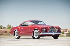 Chrysler D'Elegance: Dieses Auto entstand im Jahr 1952 aus der Kombination von amerikanischer Technik und Größenordnung sowie italienischem Flair und Stilempfinden.