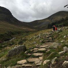 Climbing Slieve Donard via the beautiful Glen River track Climbing, Ireland, Track, River, Mountains, Holiday, Nature, Beautiful, Vacations