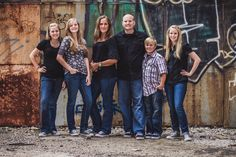 Family Portraits at the West Bottoms in Kansas City | Morgan Lang Photography