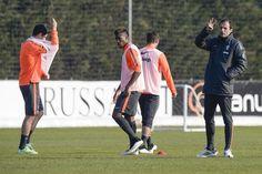 Vinovo, allenamento Juventus