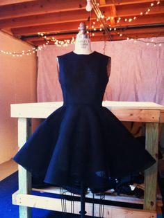 Vintage 1950's Inspired Black Dress by kellyking89 on Etsy, $65.00