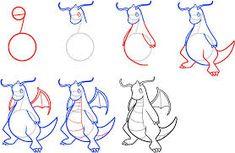 Resultado de imagem para how to draw pokemon