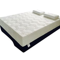 Oshion 14' Three Layers Cool Medium Firm Memory Foam Mattress Queen / King Size White (Queen Size) ** Wow! I love this. Check it out now! (This is an amazon affiliate link. I may earn commission from it)