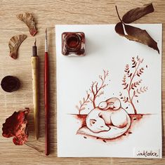 Nina Stajner joined in this year inktober; she planned on creating ten ink illustrations and ended up with 20, here are 15 of her complete pieces. Featuring rabbits, hedgehogs, fawns and more. Nina is Ljubljana based illustrator and a graphic designer; she enjoys doing individual projects to experiment and grow as an artist. I am …
