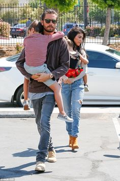 kourtney and scott relationship length