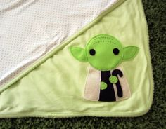 Sewing Wars  Baby Youda Reversible Blanket by micielomicielo, $25.00