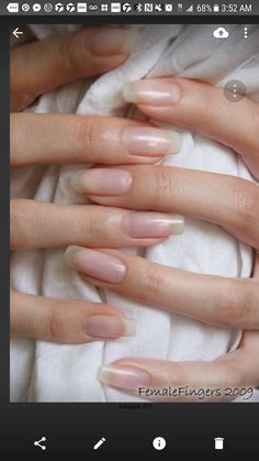 The prettiest and most natural nails on the internet