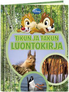 Tikun ja Takun luontokirja kertoo paljon mielenkiintoisia asioita luonnosta ja tutustuttaa lintujen, jänisten ja monien muiden metsäneläinten elämään. Kirjassa kerrotaan, millaista metsässä on eri vuorokauden- ja vuodenaikoina sekä miten jokainen voi suojella lähiympäristöään.