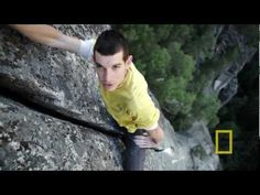 free soloist Alex Honnold - I loose my stomach every time I watch this kid