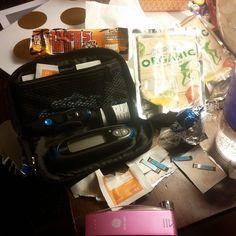 What it looks like when you battle lows through the night. #diabetes #diabetesproblems #t1d #type1diabetes #bloodsugarlow