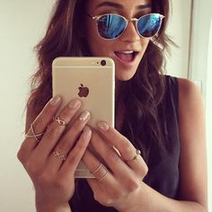 When her accessories slayed your whole damn life. | 18 Times Shay Mitchell Was The Most Glamorous Woman On Instagram