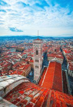 Santa Maria del Fiore, Florence, Italy #visitingitaly #VisitingItaly
