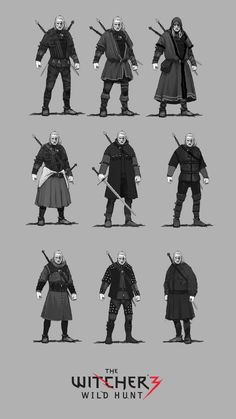 ArtStation - The Witcher 3 concept art, Jan Marek | NPCs ...