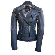 Women's Biker Jackets - Buy Leather Biker Jackets For Women - Leather Skin Shop Brown Leather Jacket Men, Leather Skin, Biker Leather, Leather Jackets, Leather Pants, Cute Jackets, Biker Jackets, Jackets For Women, Warm Jackets