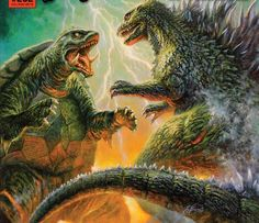Godzilla V.S. Gamera