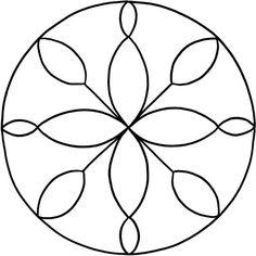 Mandalas zum Ausdrucken: Tolle Blumen-Mandala-Vorlage zum Ausmalen für Kindergartenkinder, aber auch für Erwachsene. In 2 Größen - DinA4 und Dina5 (Mini-Mandala) Mandala Art, Mandala Painting, Mandala Drawing, Mandala Pattern, Dot Painting, Mandala Design, Creative Arts Therapy, Pottery Painting Designs, Doodle Art Designs