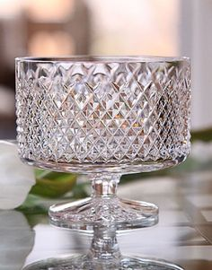 Waterford Crystal Alana Footed Centerpiece Crystal Clear Bowl (BRAND NEW) | Pottery & Glass, Glass, Glassware | eBay!