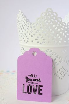 All you need is... by Osnat Soffer on Etsy