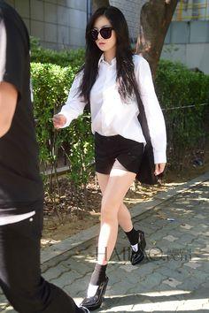 Hyuna 4minute Airport Fashion