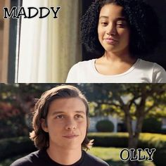 OTP ♥ maddy x olly #everythingeverything #amandlastenberg #nickrobinson