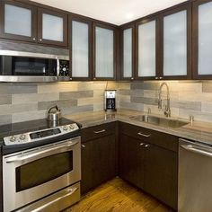kitchen backsplash ideas with dark cabinets. dark cabinets tile