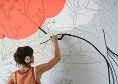 *** Joana Santamans Artwork and Illustration *** – Mural / Baobab