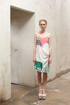 Antonio Marras pre collection spring summer 2013 #fluo #flower #jap #earrrings