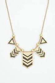 Native arrow necklace.  Joyce.