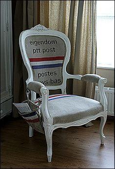 Opgeknapte stoel