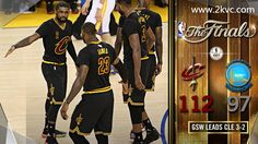 Cleveland Cavaliers beat Golden State Warriors 112-97 to force a game six.