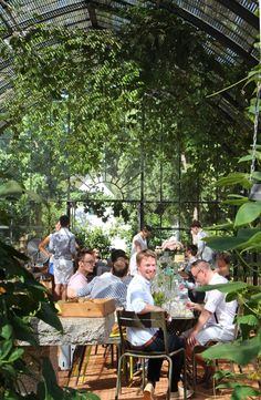 Babylonstoren, The Glasshouse. Photo by Chandler View and visit all that has to do with conservatories