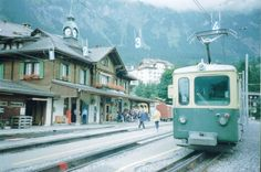 estação de Wengen, Suiça