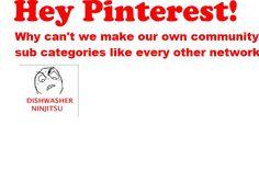 Hey Pinterest.