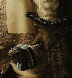 Detail of Rembrandt's Nightwatch (1642)