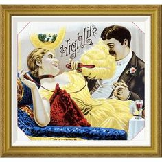 Global Gallery 'High Life' Framed Painting Print Size: